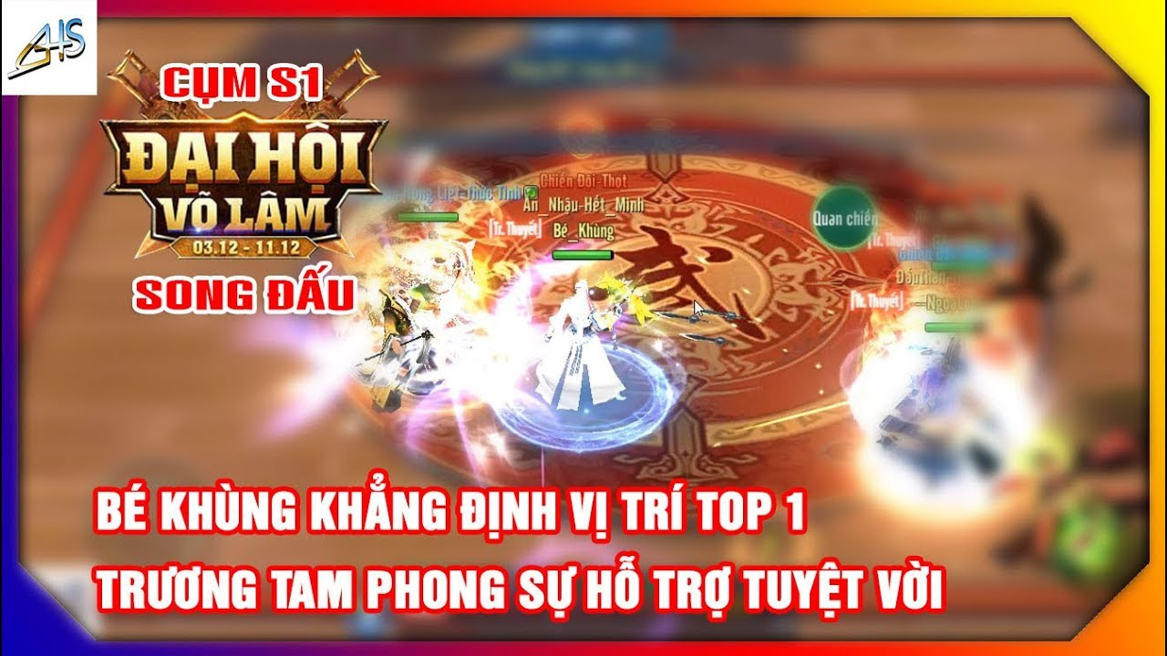 VLTK Mobile – CK song đấu   Bé Khùng khẳng định vị trí top 1 tại đại hội võ lâm