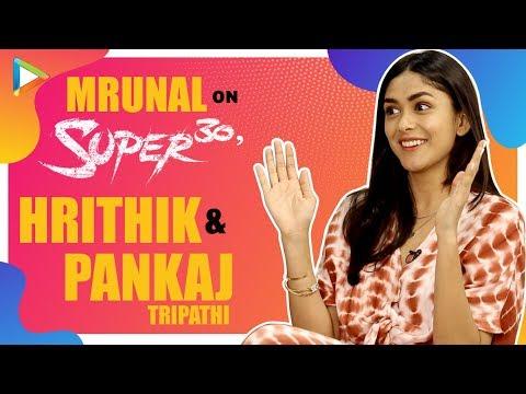 "Mrunal Thakur: ""I Was So INSPIRED To Witness Hrithik Roshan Playing Anand Kumar""| Super 30 Mp3"