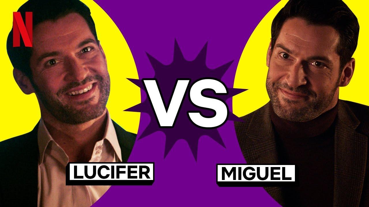 Batalha dos Irmãos: Lucifer vs. Miguel | Lucifer | Netflix Brasil