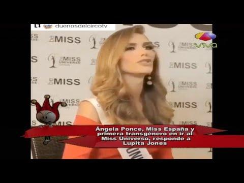 Ángela Ponce, Miss España y primera transgénero en ir al Miss Universo, responde a Lupita Jones