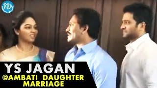 YS Jagan Craze At Ambati Rambabu's Daughter's Marriage Function