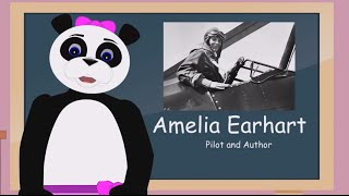 ... join ping as she teaches a lesson on amelia earhart famous for being invo...