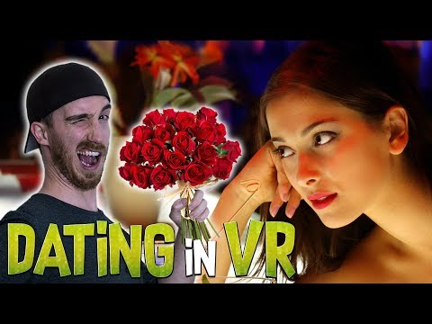 DATING IN VR IN THIS DATING SIMULATOR! | MY VR VALENTINE! | Fall in Love VR - Oculus Rift Gameplay
