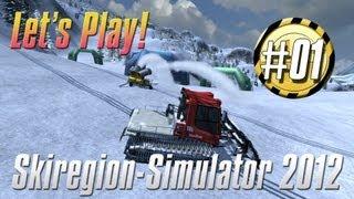 Let`s Play Skiregion Simulator 2012 , Erstmal alles kennenlernen
