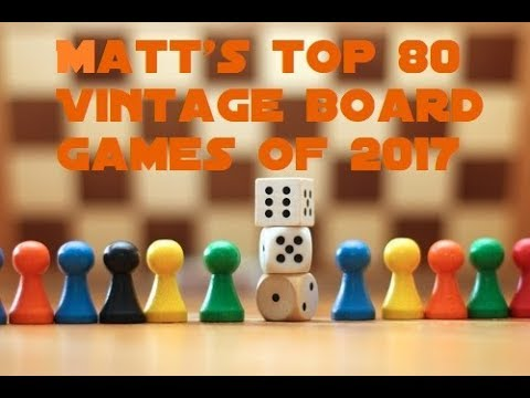 Matt's Top 80 Vintage Games of all Time (20-1)