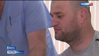 постер к видео Врачи алагирской больницы провели уникальную операцию
