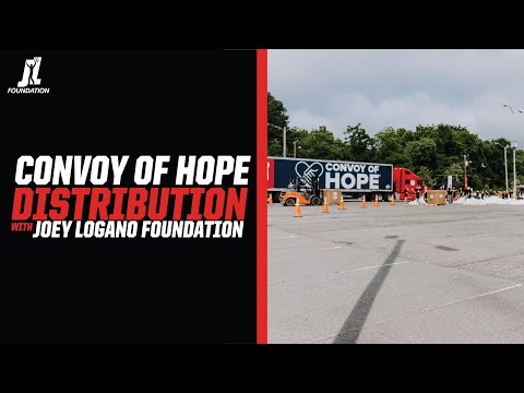 Joey Logano Foundation Convoy of Hope in Charlotte
