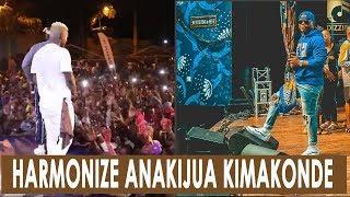 HARMONIZE AIMBA KIMAKONDE WASAFI FESTIVAL/ KWA NGWARU KAMA MPYA MTWARA!