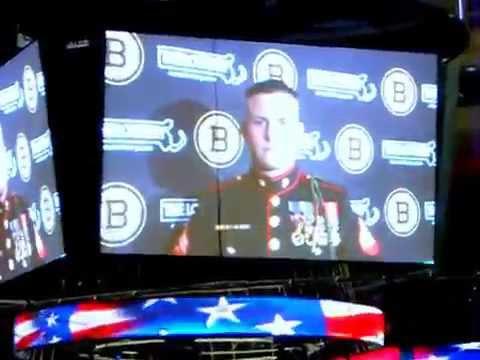 Sam Dillon USMC, Bruins 8Spoked Salute
