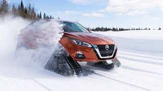 Nissan Awd Winter Drive Quebec 2019