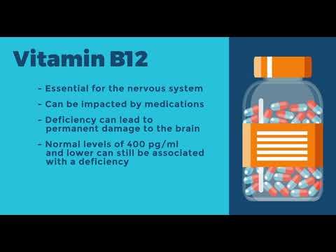 Seniors and Vitamins D and B12