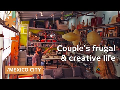 Couple taps into Mexico City's creativity with frugal design