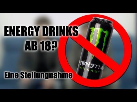 "Energydrinks ab 18! Ein ""Monster"" bedroht unsere Jugend"