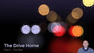 ShaderToy LiveCoding - The Drive Home - 6. Rain on a Windshield by The Art of Code