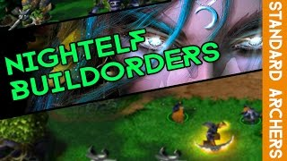 Warcraft 3 - NE Build Orders - Standard Archers