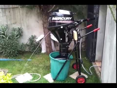 winterize mercury outboard motor youtube
