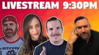 BitSquad Crypto Chat Livestream | w/ Guests CryptoWendyO, CryptoStache, & Crypto Crow