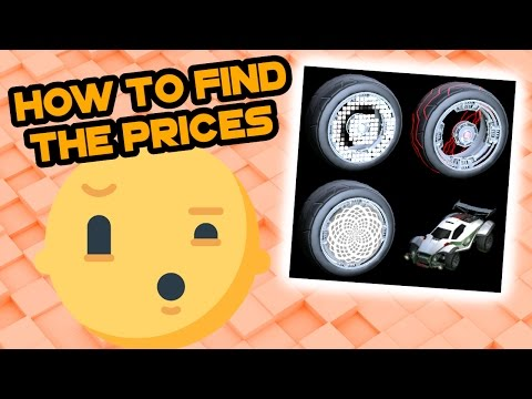 How To Find The Prices Of Items | Rocket League Trading
