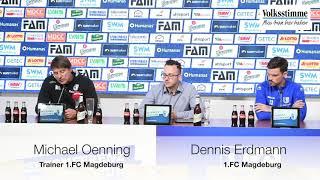 FCM vor Spiel gegen Dynamo Dresden