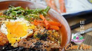 Học món Hàn: Cơm trộn (Bibimbap)