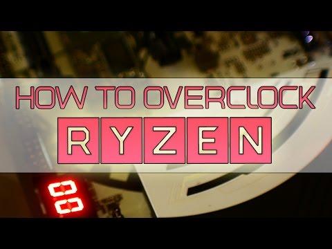 How to Overclock Ryzen - R7-1800x, 1700x & 1700   Bios Overclocking Guide