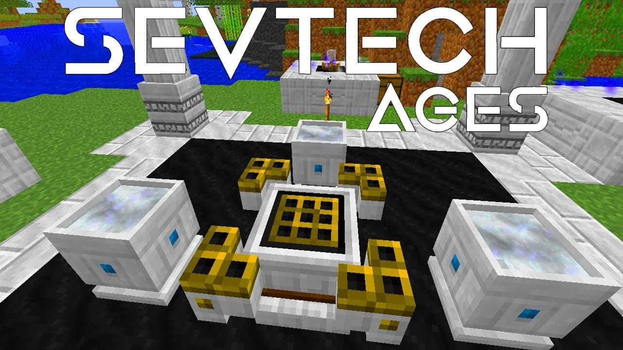 SEVTECH AGES - CELESTIAL ALTAR + AGE 3[E07]MODDED MINECRAFT 1 12 2
