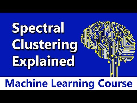 Machine Learning #79 Spectral Clustering Algorithm Explained