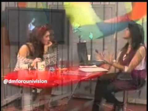 Dulce Maria En Chat Terra Colombia Parte 2 (02 09 2010)