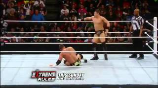 The Miz Vs. Alex Riley - WWE Superstars 4/26/12