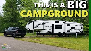 East Fork State Pąrk Campground - Quick look and review!!