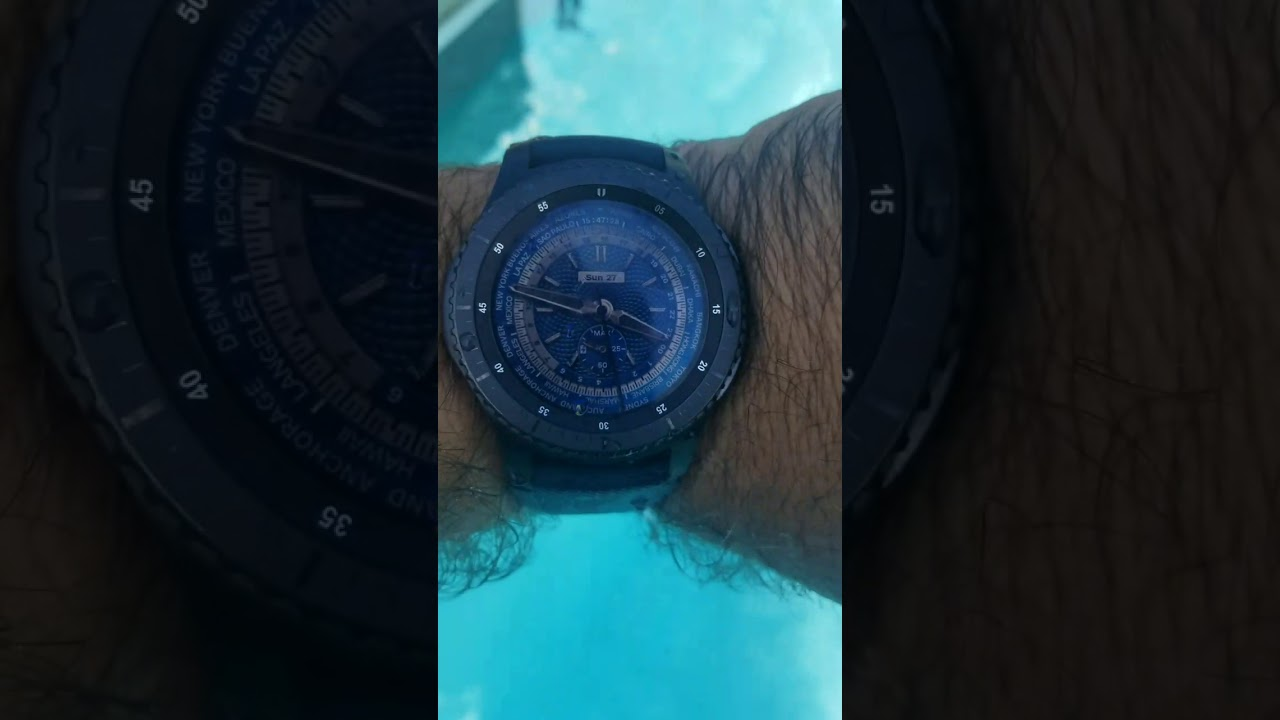 new concept f6f72 69999 True Samsung Gear S3 Frontier waterproof and samsung galaxy s8 plus  waterproof test