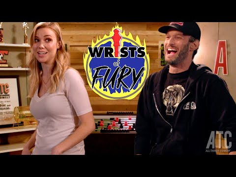 Josh Wolf (foosball Newb) Challenges Kelsey Cook (pro Foosballer And Comedian): Wrists Of Fury