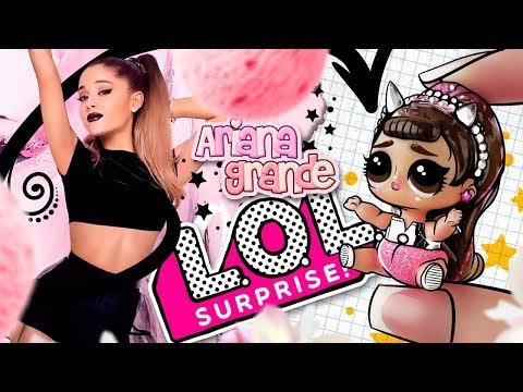 ARIANA GRANDE BABY 🎤 LOL Surprise Custom Doll DIY 💕 LOL Dolls Videos | LOL Unboxing