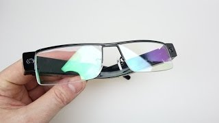 1080p Hidden Camera Spy Glasses - REVIEW & DEMO