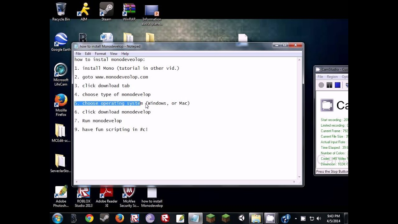 How to install monodevelop