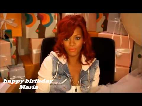 Rihanna and Usher Sings Happy Birthday