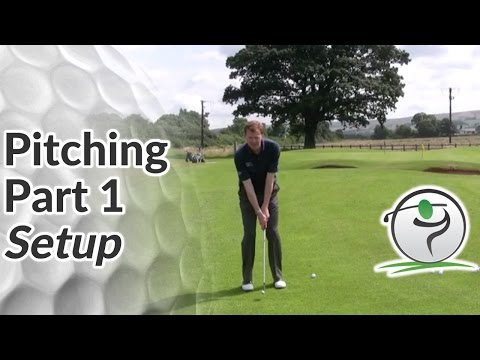 Pitching Setup – How to Set Up for a Pitch Shot in Golf