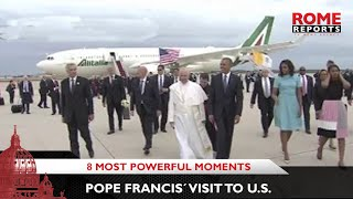 The eight most powerful moments of Pope Francis' visit to the United States