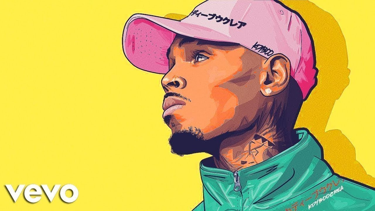 adobe draw make chris brown cartoon with his daughter royalty