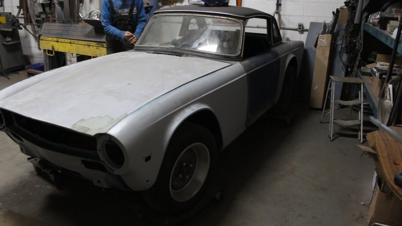1973 Triumph Tr6 Restoration Project Part 6 Youtube