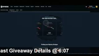 OPSkins Mystery Item Knife Opening + M4 Hyper Beast Giveaway [CSGO]