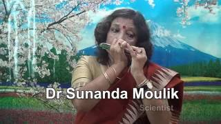 Dr Sunanda Moulik Scientist Harmonica Mouth organ Alo amar alo 2016