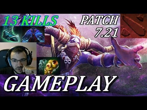 SUPPORT, KILLER, EVERYTHING!! Witch Doctor Gameplay Commentary Dota 2