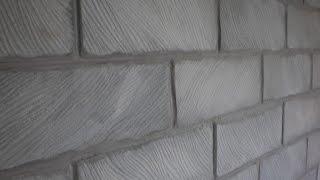 Кирпичная стена из потолочной плитки. Brick wall from ceiling tiles(Show-room или история о комнате, которой суждено стать знаменитой. История 1 – «Кирпичная стена из потолочной..., 2015-08-02T18:34:12.000Z)
