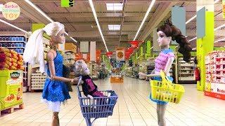Barbie shopping Barbie Painting Color Barbie market