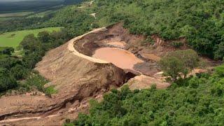 Search teams at work after Kenya dam bursts killing dozens