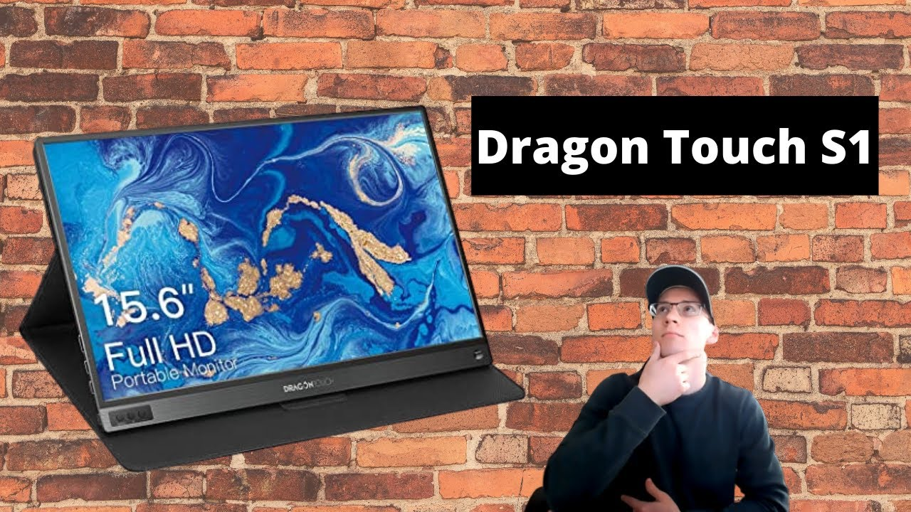 Download The Dragon Touch S1 Portable Monitor Full Review in 2020!!