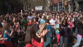 Official Seattle Glee Flash Mob - Pioneer Square