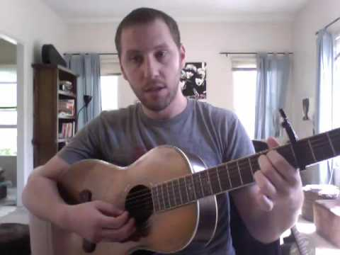 How To Play The Gardener By The Tallest Man On Earth Youtube