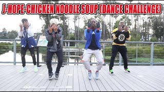 J-hope 'Chicken Noodle Soup (feat. Becky G)' Dance Challenge